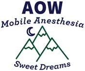 Anesthetists of Washington – AOW Mobile Anesthesia Services Logo